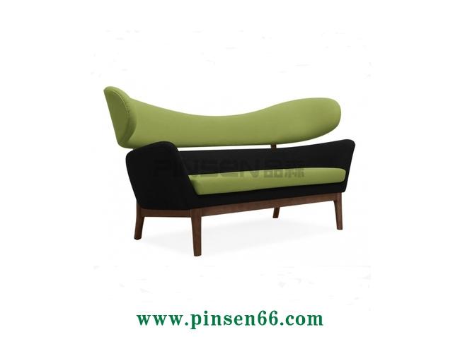 咖啡厅卡座沙发009