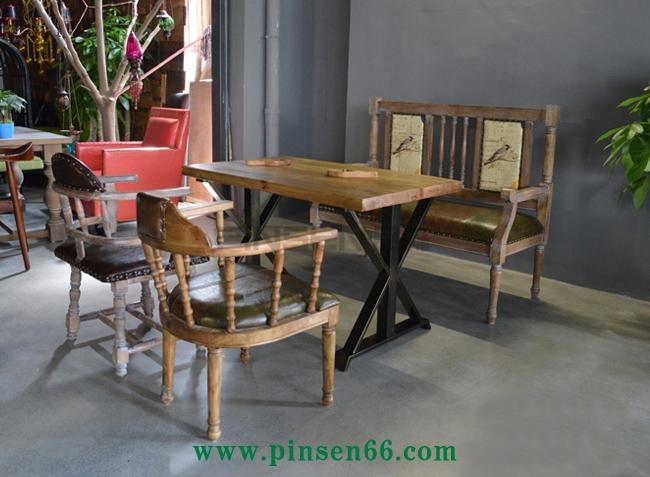 咖啡厅餐桌椅卡座